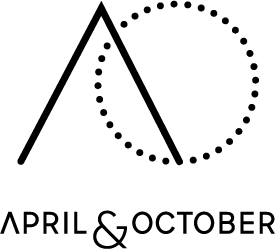 Logo van AprilandOctober.