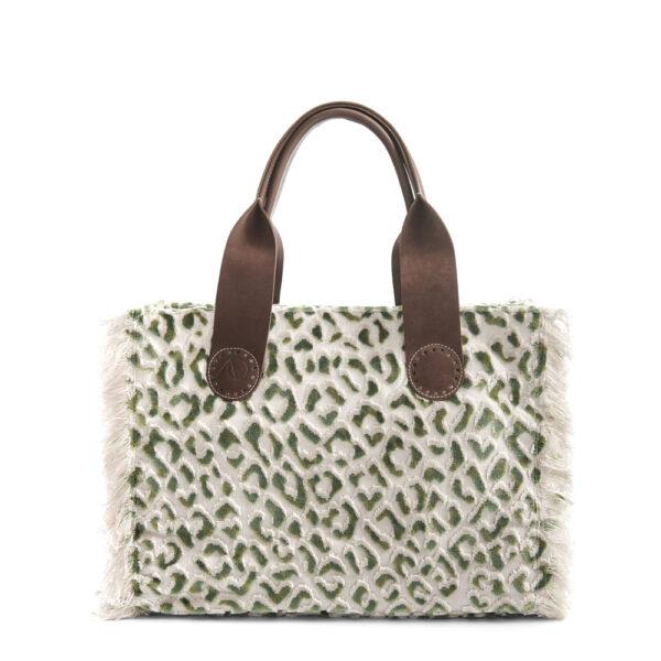 De Belle Midi in Green Leopard, daar past je hele leven in.