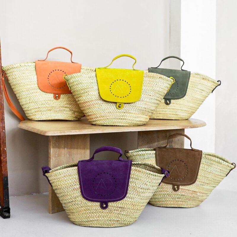 Jane Straw Bag van April&October