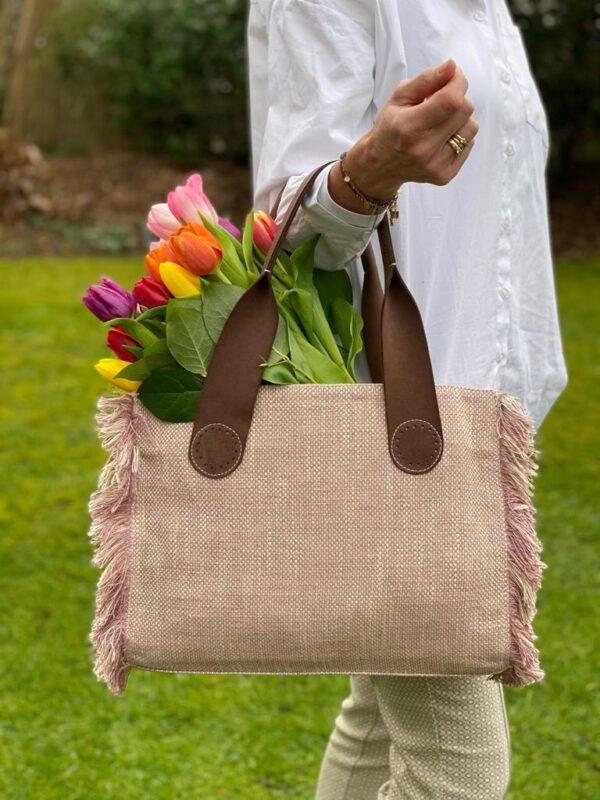 Trendy tote bags in verschillende maten
